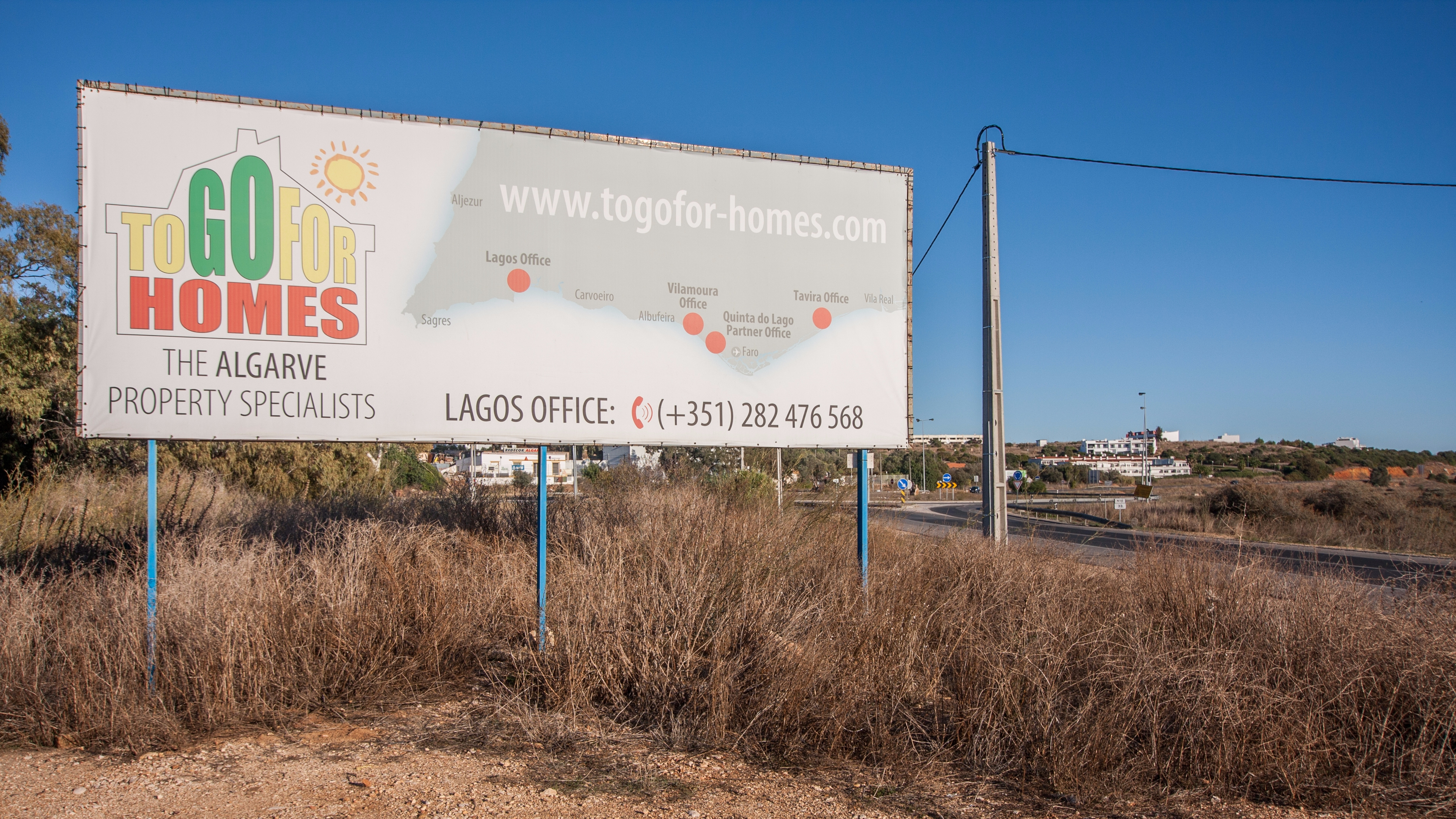 Togofor-Homes invests €100.000 per year in billboard advertising, since 2017!