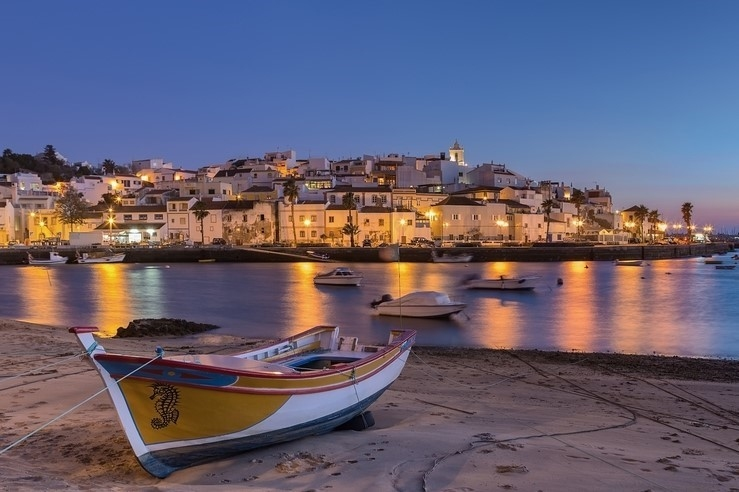 Ferragudo at Sunset