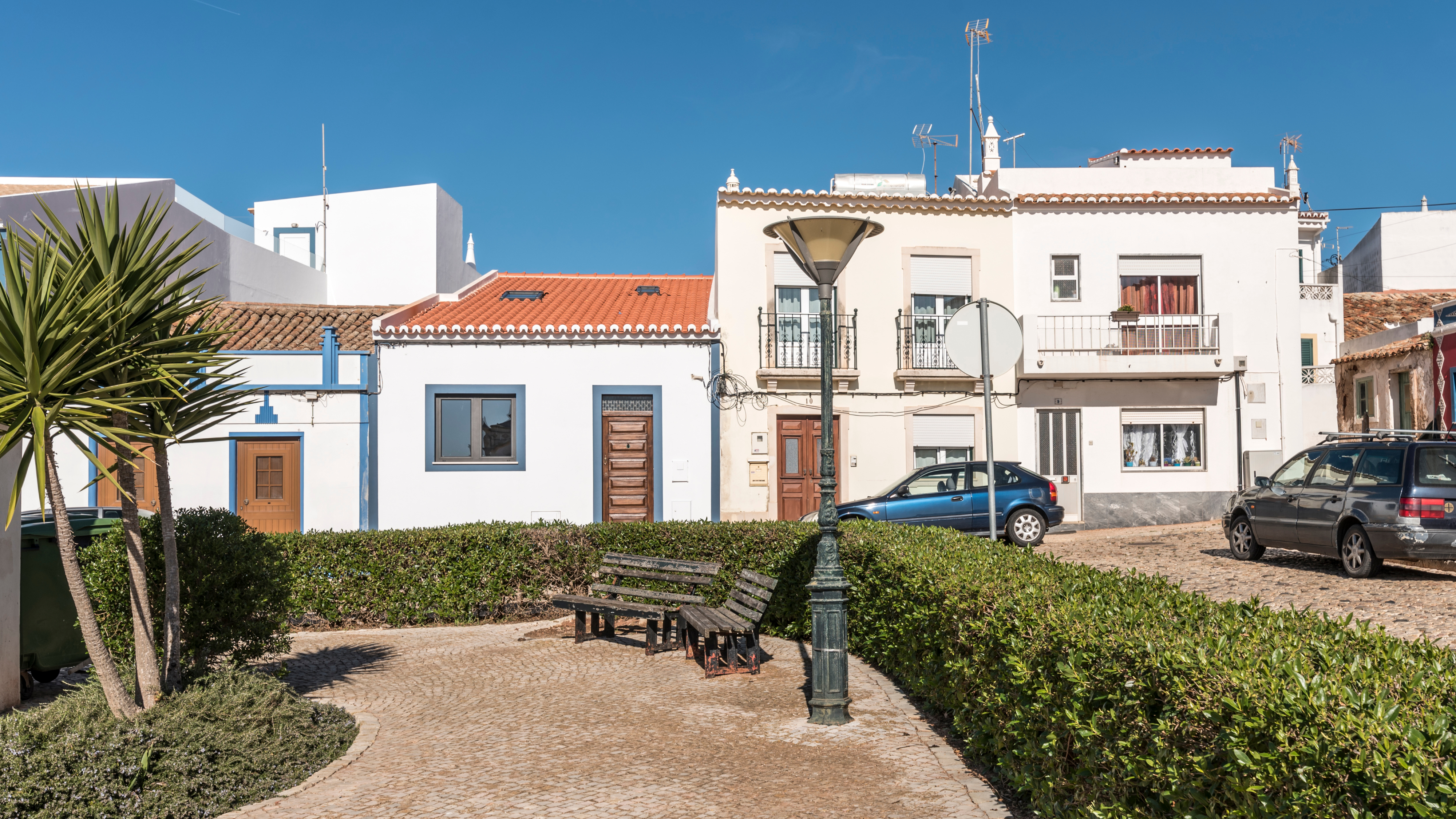 modernised two bedroom townhouse with attic area, vila do bispo, west algarve