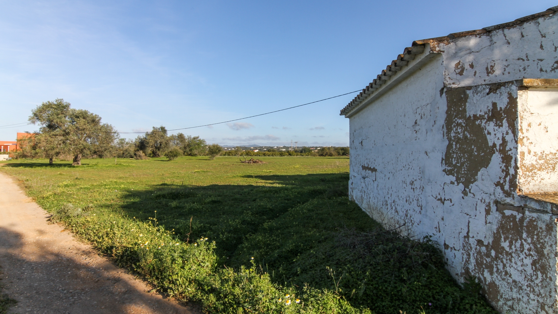 Plot with 14.810 m2 with warehouses, near Tavira | TV1063 Big plot, perfect for agricultural project. It's located in a quiet area, close to Tavira and several beaches. It includes industrial warehouses and use of dam water.