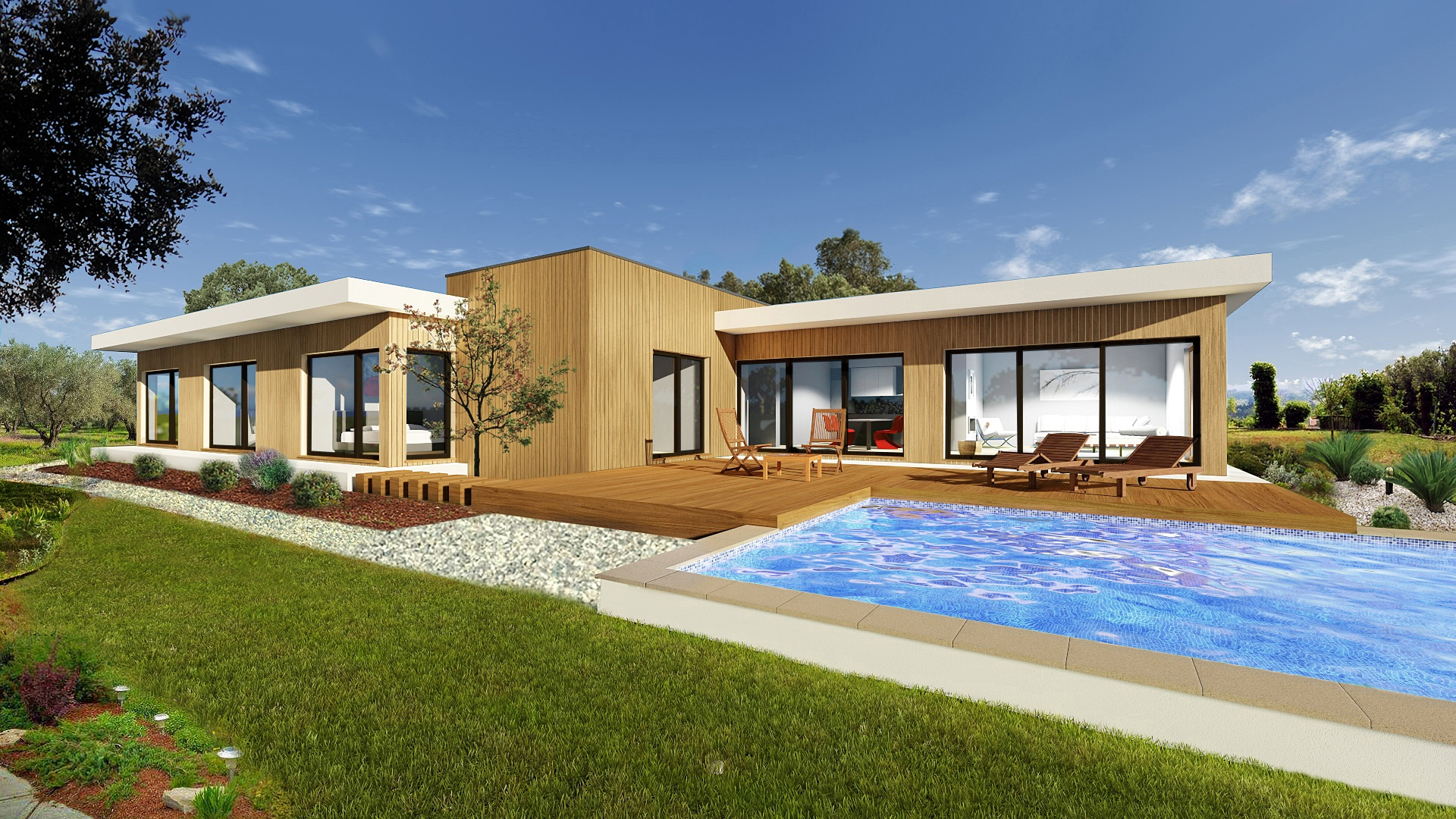Under construction - Modern 2+1 Bedroom Villa with private Pool and Lake views in Silves, Golf Resort | PCG1184