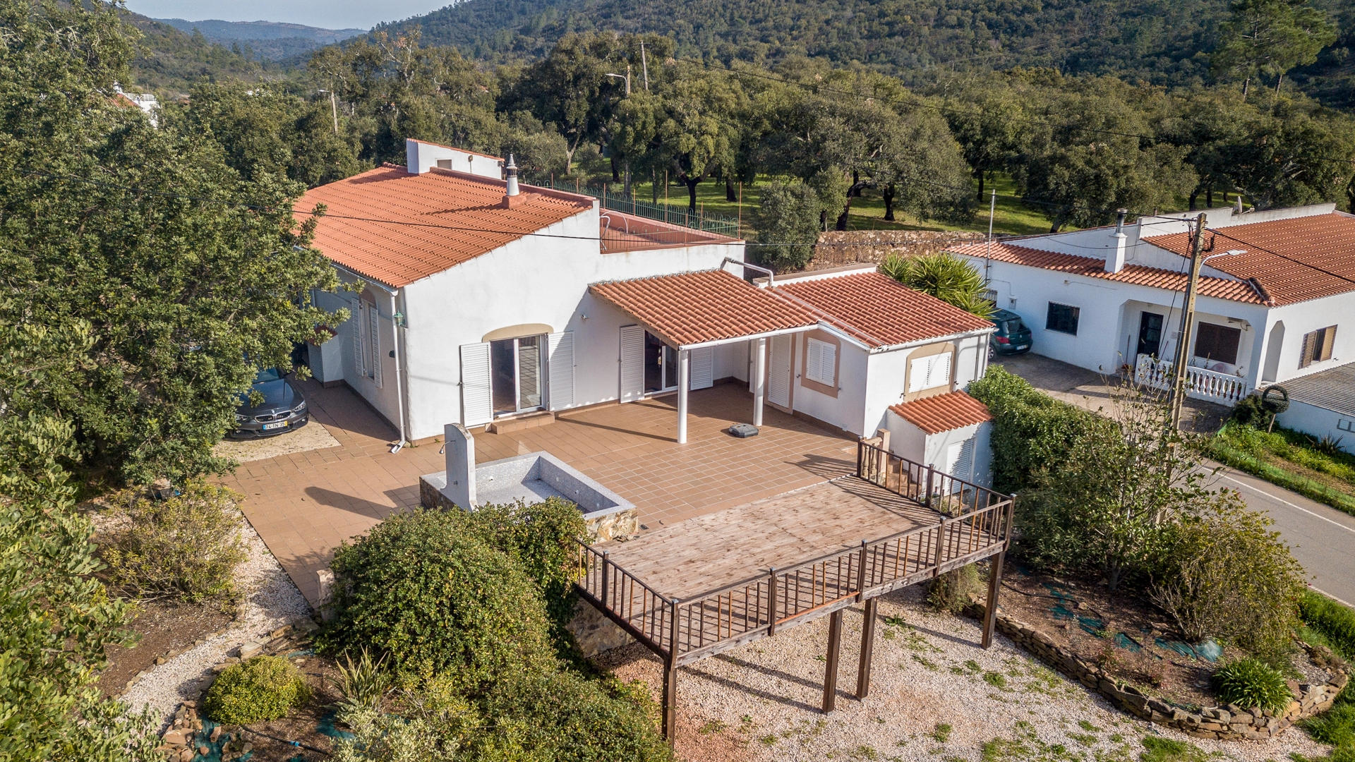 3 Bedroom Traditional Portuguese House set in the dramatically beautiful hills beyond Salir | VM1267 Traditional house in the countryside, perfect for those seeking absolute peace and quiet away from the crowds of the coast. Rebuilt with all new plumbing and wiring, new kitchen and bathrooms