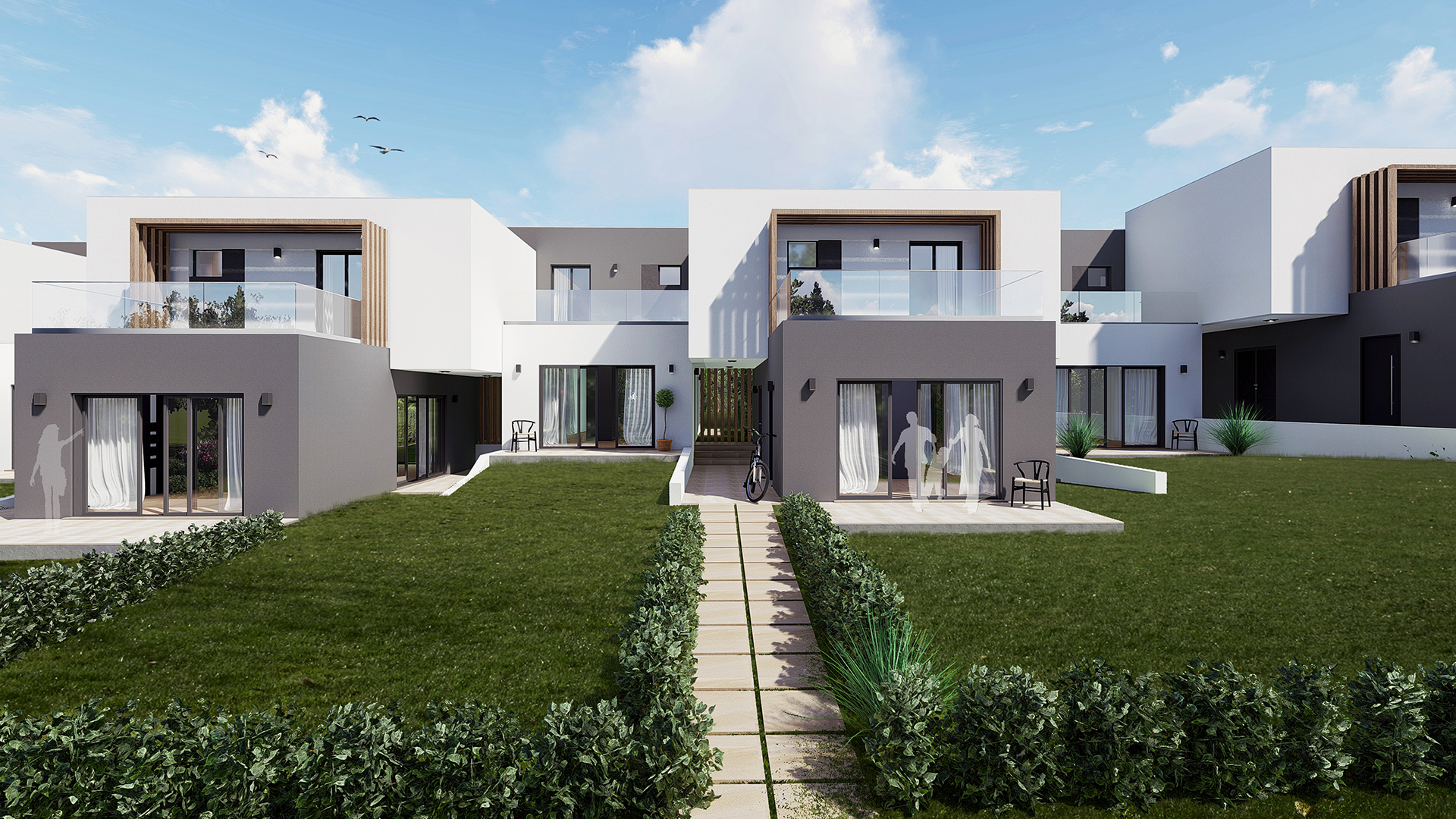 2 Bedroom Duplex apartments under construction on Golf Resort, Silves | PCG1625 Off-plan two bedroom duplex apartments set on a golf course with lovely views. Close to the historic town of Silves and all amenities. Rental potential and golf privileges.