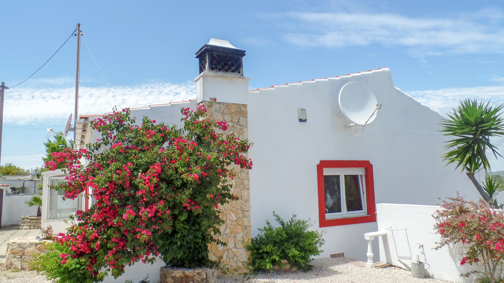 3 bedroom villa with guest annex and pool in loule