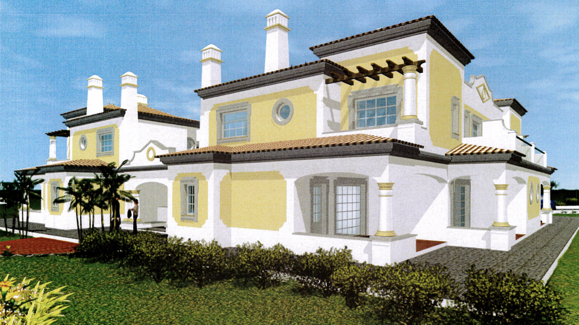 Plot With Planning Permission for Apartments / Large House or Hotel near Tavira | S2662 Large plot near Tavira and beaches. Flexible building options: large villa, hotel or apartments. Close to Ria Formosa and all amenities.