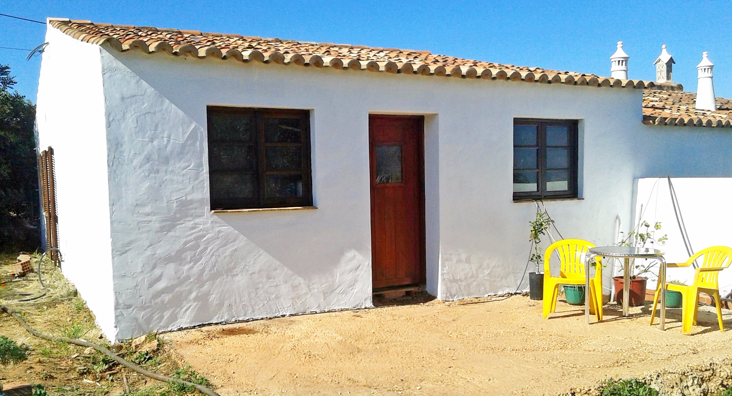 Two Typical Algarvian Adjoining Properties and One Detached, near Silves | S1424 The properties once completed would make a great holiday rental business or live in one and rent the other remaining properties out, it has many combinations