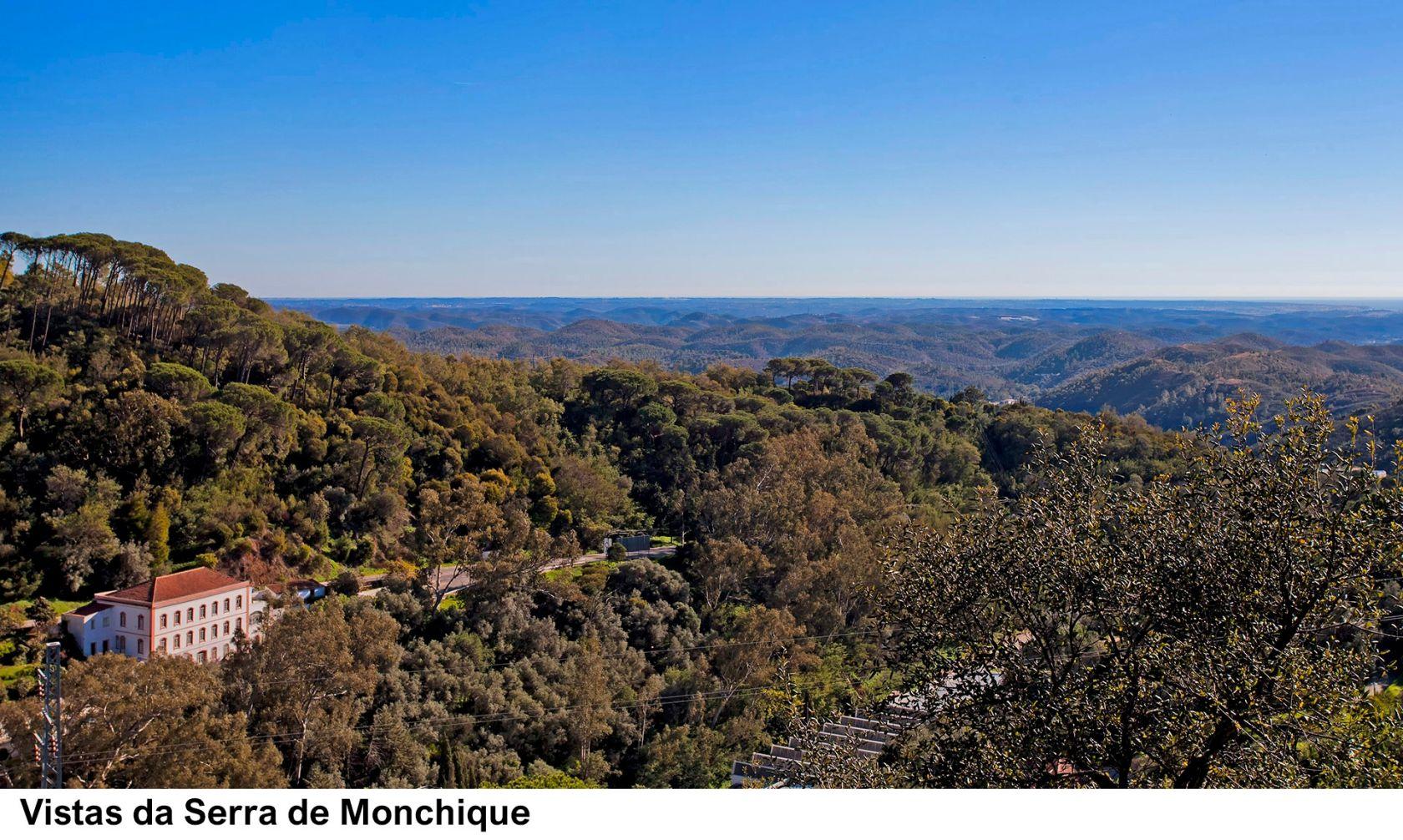 Vistas da Serra de Monchique