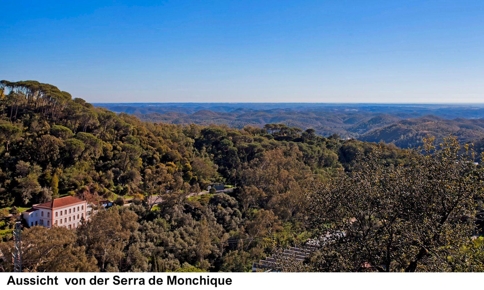 Aussichtvon der Serra de Monchique