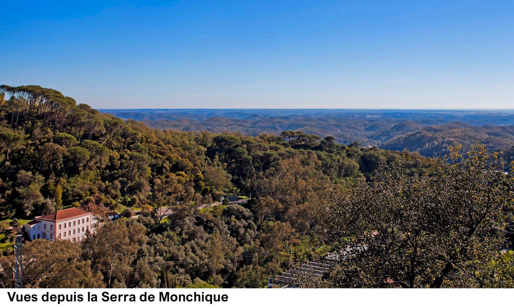 Vues depuis la Serra de Monchique