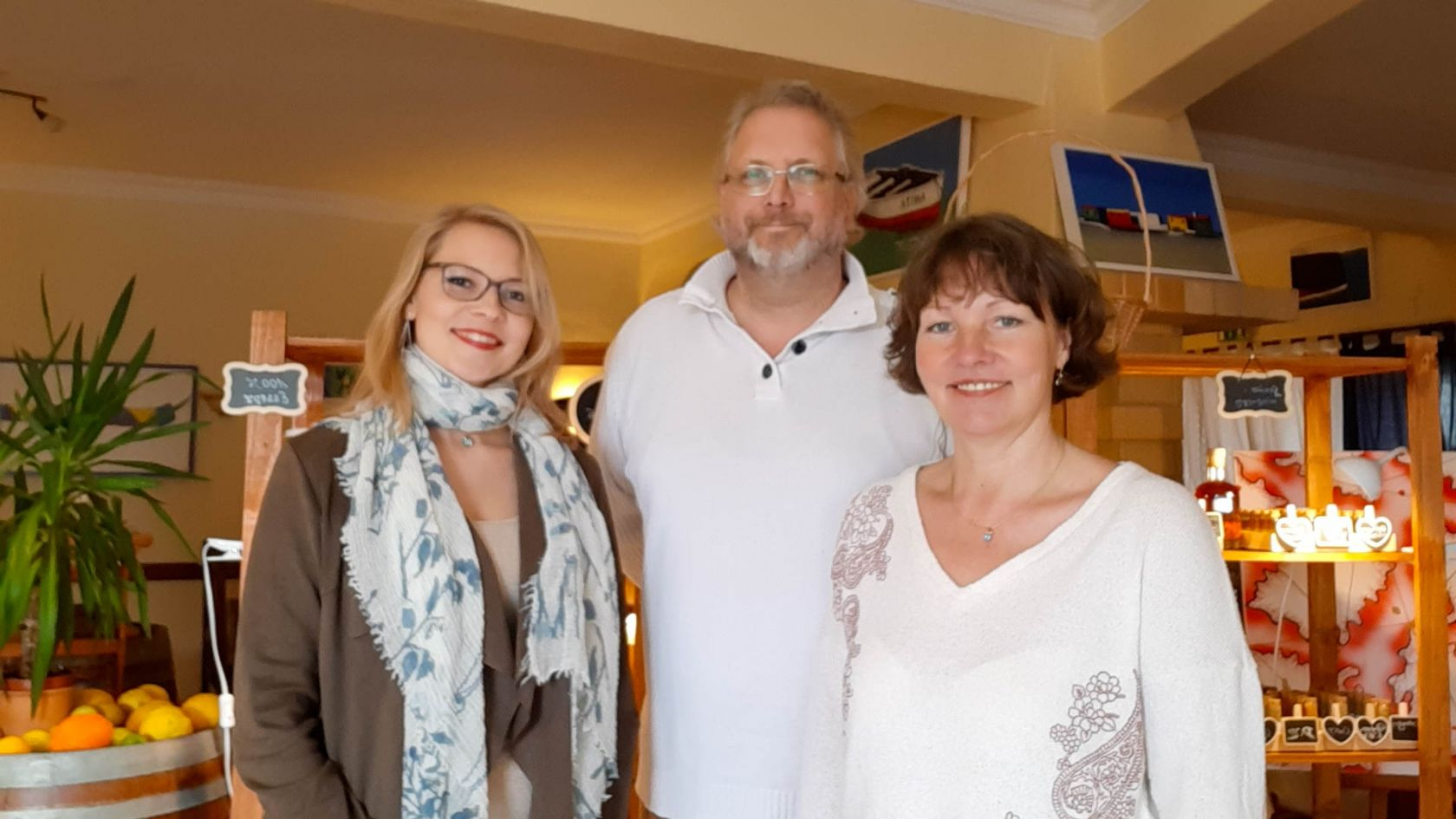 Beatrice, Martin and Annett
