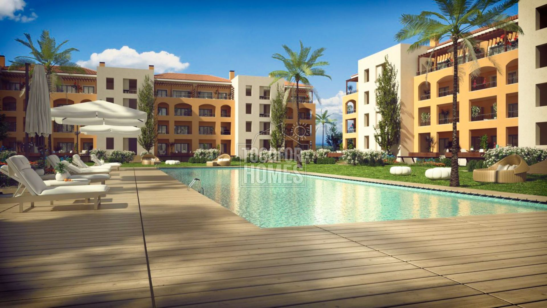 VM1000 - Luxury 2 Bedroom Apartments on Golf Course, Vilamoura