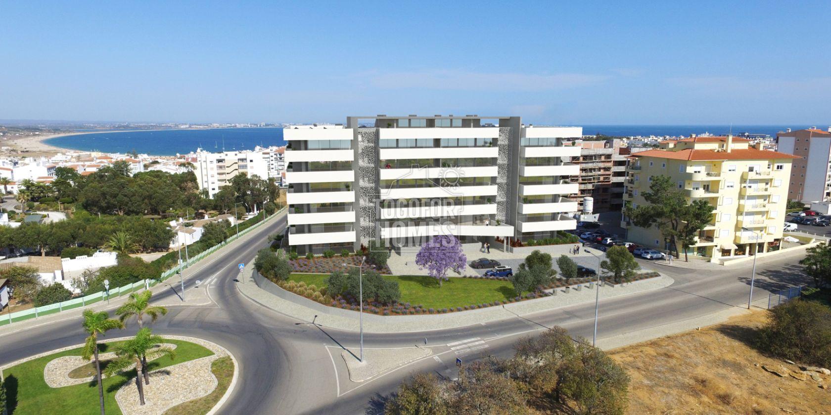 LG1199 - Appartements hors plan de 2 chambres avec piscine commune et vue sur la mer, Lagos