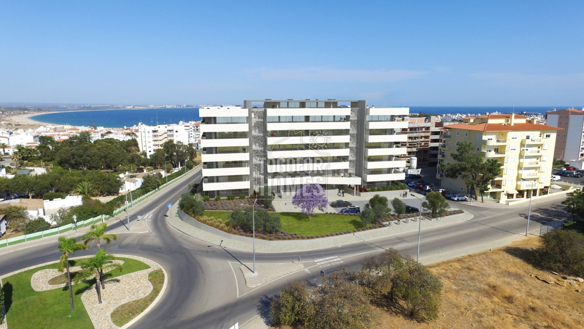 LG1199 -Off-plan 2 bedroom apartments with communal pool and sea views, Lagos, West Algarve