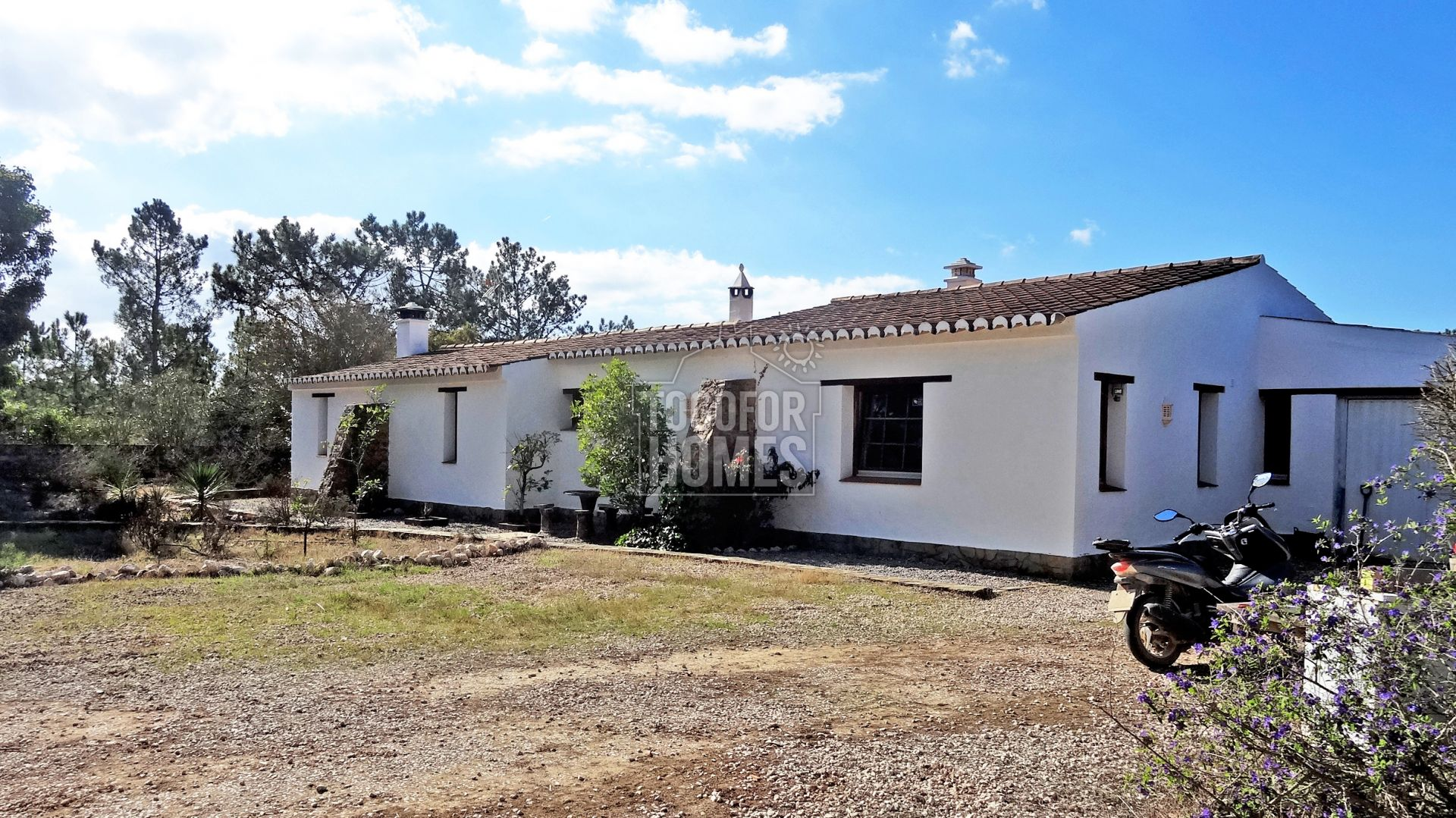 LG989 - O2 bedroom country house on huge plot in spectacular location 250m from sea, Rogil, West Coast